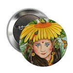 The Elf Artist Button