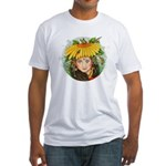 The Elf Artist Fitted T-Shirt
