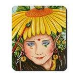 The Elf Artist Mousepad