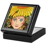 The Elf Artist Keepsake Box