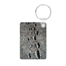 Trail of Laetoli footprint Keychains
