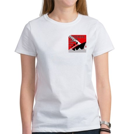 Shipwreck Diver Flag Women's T-Shirt