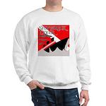 Shipwreck Diver Flag Sweatshirt