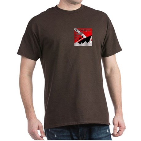 Shipwreck Diver Flag Dark T-Shirt