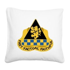 DUI - 525th Military Intellig Square Canvas Pillow