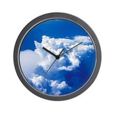 Thunderstorm cloud Wall Clock