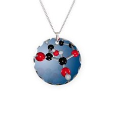 Glucose sugar molecule Necklace