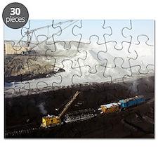 Open cast coal mine Puzzle