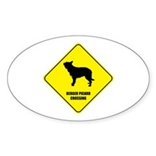 Berger Crossing Oval Decal