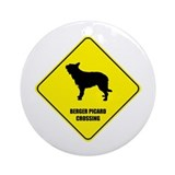 Berger Crossing Ornament (Round)