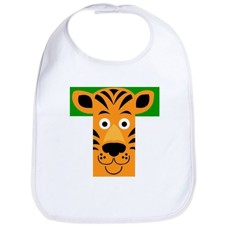 T is for Tiger Bib