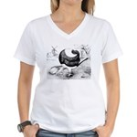 Holle Cropper Women's V-Neck T-Shirt