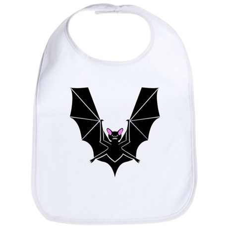 V is for Vampire Bat Bib