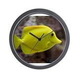 Fish Wishes Wall Clock