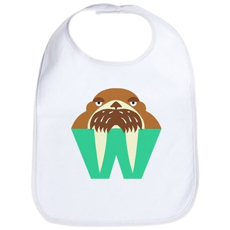 W is for Walrus Bib
