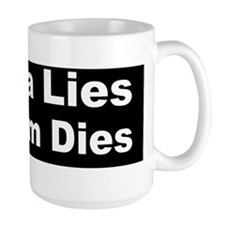 obama lies freedom diesdbump Mug