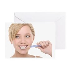 Dental hygiene Greeting Card