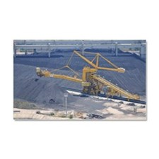 Power station - Coal storage si Car Magnet 20 x 12