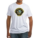 Del Norte Sheriff Fitted T-Shirt
