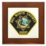 Del Norte Sheriff Framed Tile