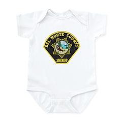 Del Norte Sheriff Infant Bodysuit