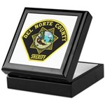 Del Norte Sheriff Keepsake Box