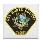 Del Norte Sheriff Tile Coaster