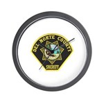 Del Norte Sheriff Wall Clock