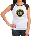 Del Norte Sheriff Women's Cap Sleeve T-Shirt