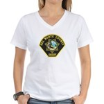 Del Norte Sheriff Women's V-Neck T-Shirt