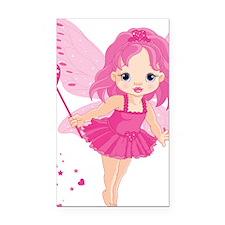 Cute Little Baby Love fairy Rectangle Car Magnet