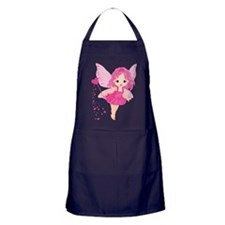 Cute Little Baby Love fairy Apron (dark)