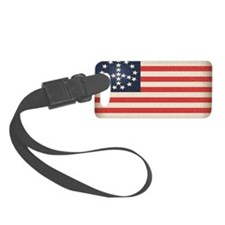 Peace Flag 2 -stkr Luggage Tag