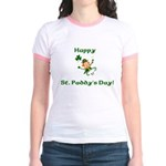 Happy St. Paddy's Day! Jr. Ringer T-Shirt