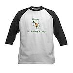 Happy St. Paddy's Day! Kids Baseball Jersey