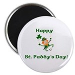 Happy St. Paddy's Day! Magnet