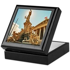 Athena sculpture Keepsake Box