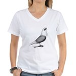 Turbiteen Pigeon Women's V-Neck T-Shirt