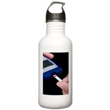 Blood glucose test Water Bottle