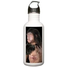 Neanderthal man Water Bottle