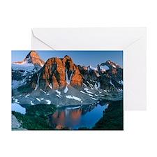 Mount Assiniboine Greeting Card