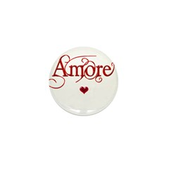 Amore Mini Button