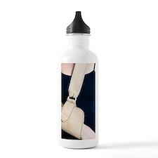 Arm in a sling Water Bottle