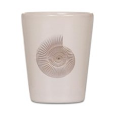 Ammonite Shot Glass
