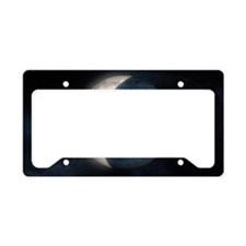 Lunar eclipse, artwork License Plate Holder