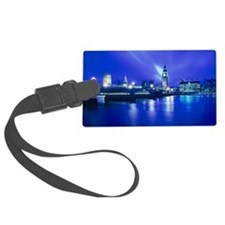 London landmarks Luggage Tag