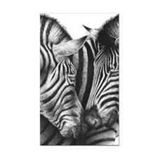 Zebras Kindle Sleeve Rectangle Car Magnet