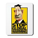 Stop Global Warming -- Mousepad