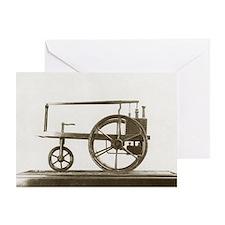 Murdock's steam engine of 1784 Greeting Card