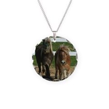 Cute Miniature Horses Necklace